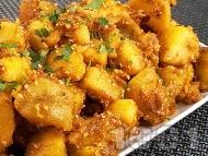 Картофки със сусам